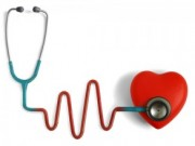 Picture of a heart to represent heart disease and the systemic effect.